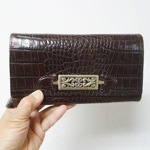 Brighton tri-fold wallet